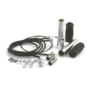 Samwell Supplies Springer handlebar throttle kit - 35-48 UL/EL/WL; & early springer bars with linkert carburetor
