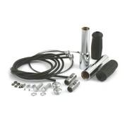 Samwell Supplies Springer Lenker Drosselsatz - 35-48 UL / EL / WL; & Früh springer Bars mit Linkert Vergaser
