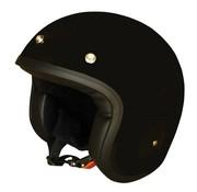 DMD helm effen zwart