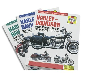 Haynes Service books Do-It-Yourself Manuals Fits: > 70-13 Sportster