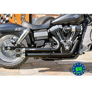 BSL exhaust EURO 3 approved HOT SHOT model Top Chopp Sport Fits:> 2008-up Fat Bob Street Bob and Dyna Wide Glide