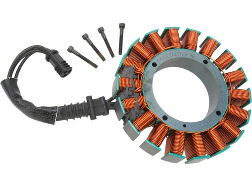 Cycle Electric Charging stator 08-15 FXST/FXD