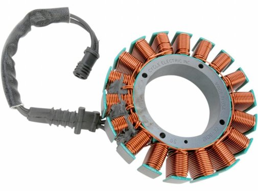 Cycle Electric Charging stator 06-15 FLHT/FLTR