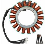 Cycle Electric 50A estator encaja: 99-05 FLH / FLT 50 amperios trifásico parte actualización de Kit número 21120408