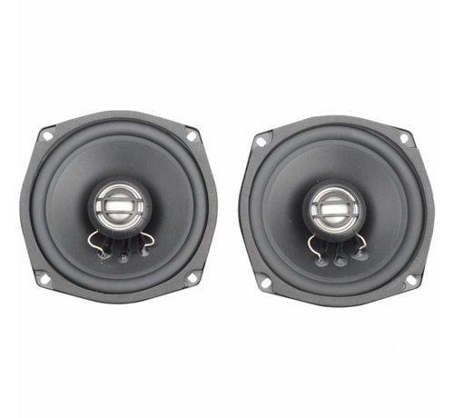 Hogtunes Harley Davidson audio luidsprekerset 5.25 inch 2 Ohm 06-13 Touring FLH / FLT Ultra achter