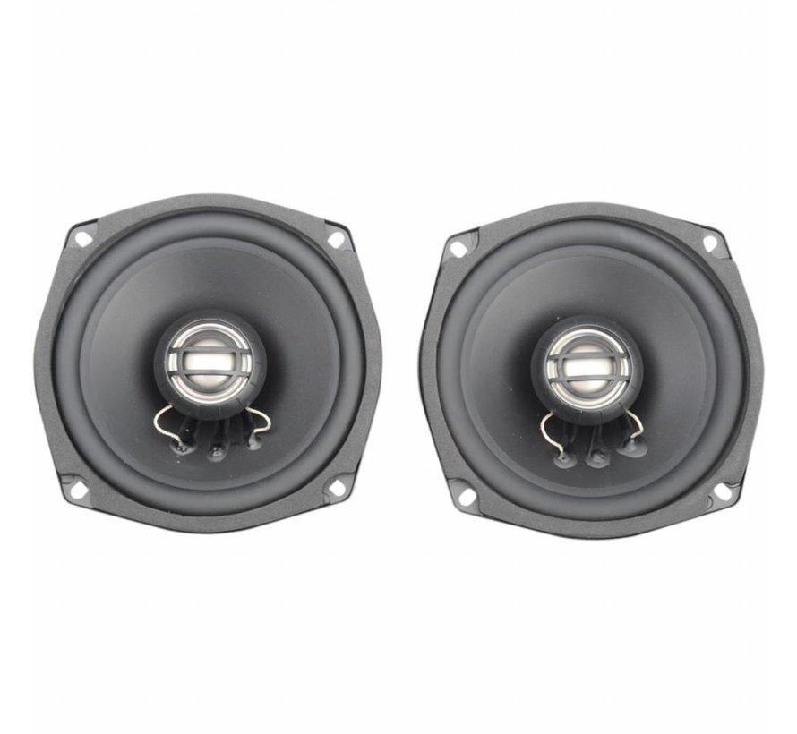 Harley Davidson audio luidsprekerset 5.25 inch 2 Ohm 06-13 Touring FLH / FLT Ultra achter