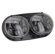 cyron LED-Scheinwerfer für Road Glide (OEM 67775-10), Passend für 2001-2013 Straße Glides