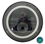Hells Foundry LED-Scheinwerfer-Einheit - 7 Zoll, passend für die meisten 7-Zoll-Scheinwerfer