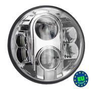 TC-Choppers koplamp LED unit 7 inch Past op:> de meeste 7 inch