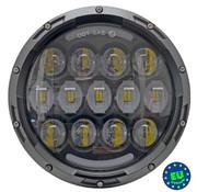 """cyron unidad de LED Faro - 7 pulgadas, E-aprobada adapta a todos los modelos de Harley y otras motocicletas con un faro de 7 """"(17,8cm)"""