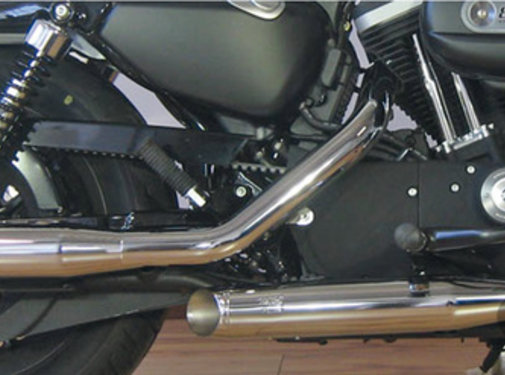 MCJ exhaust Slip-on mufflers Royal Fits:> 2014-2017 Sportster XL
