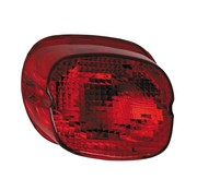 MCS taillight  lens red bottom tag window 1973-up HD