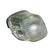 TC-Choppers taillight lens clear top tag window 1973-up HD