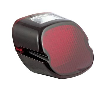 TC-Choppers achterlicht LED lens rood top tagvenster 2003-up HD