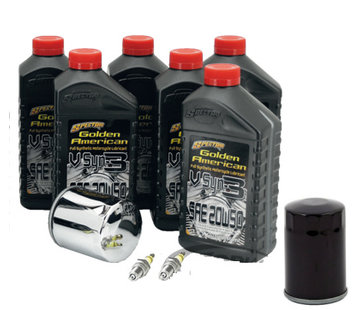Spectro Maintenance Platinum Drive Train Oil Service Kit for 1999-2017 Twincam