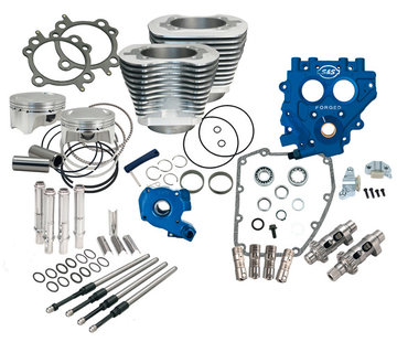 S&S Harley Engine 100CI and 110CI Power Packs; Fits 1999-2006 Twin Cam   except 2006 Dyna - (gear drive)