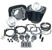 S&S Sportster 1200 kits de actualización del motor 2000-2016 Sportster 1200 to1250 kit