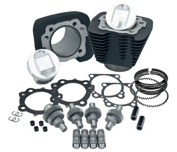 S&S Engine   Sportster XL 1200 Engine upgrade Kits 2000-2016 Sportster XL 1200 to1250 kit
