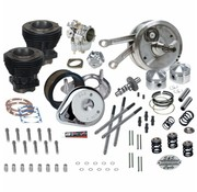 S&S Engine  93 inch  Hot Set Up Kit for 1973-' 77 -Davidson® Big Twin includes 4-1/2 inch  stroker flywheels