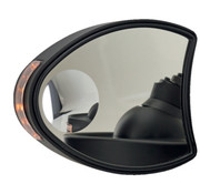 TC-Choppers mirror fairing monted mirrors with Turnsignals: for Touring FLH/FLT