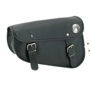 Texas leather Engine   Sportster XL Eco-Line side bags Black or Brown - smooth