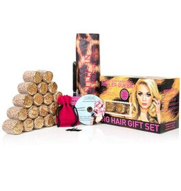 Sleep-In Rollers Sleep in Rollers Leopard Brown Glitter Gift Set