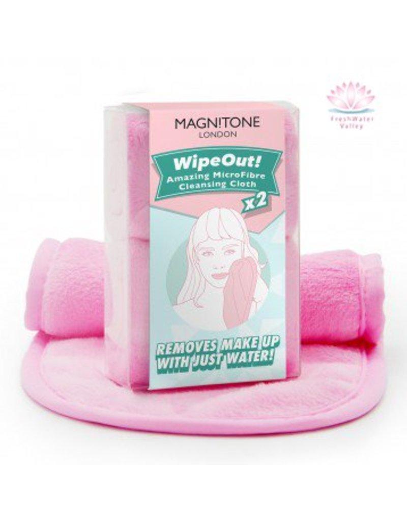 Magnitone Magnitone Wipe-Out! Microfiber Makeup Reinigingsdoekjes