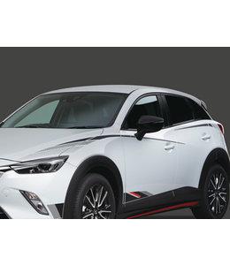 Mazda CX-3 Folierung Seitlich oben