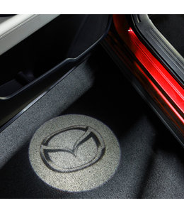 CX-5 KF ab 2017 Tür-Projektor mit Mazda Logo original