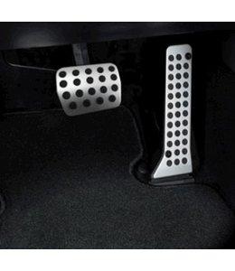6 Automatik Alu Brems- + Gaspedal original nur für Automatikgetriebe 2-teilig