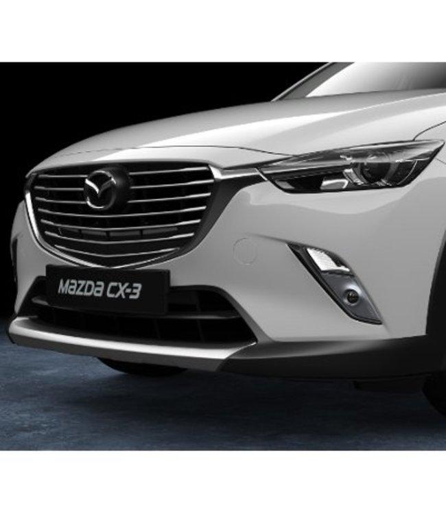 Mazda CX-3 Design-Unterfahrschutz vorne lackiert in matt silber