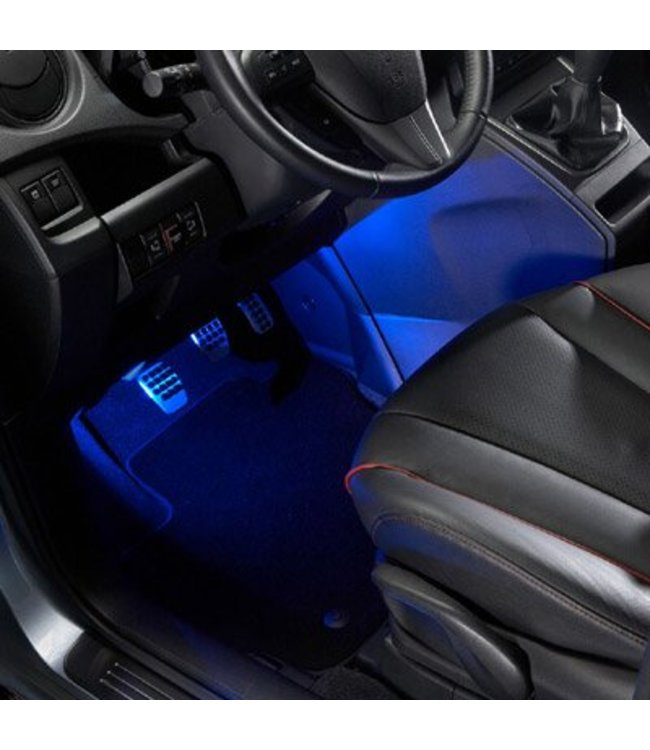 Mazda CX-3 Fußraumbeleuchtung Begrüßungsbeleuchtung blau original