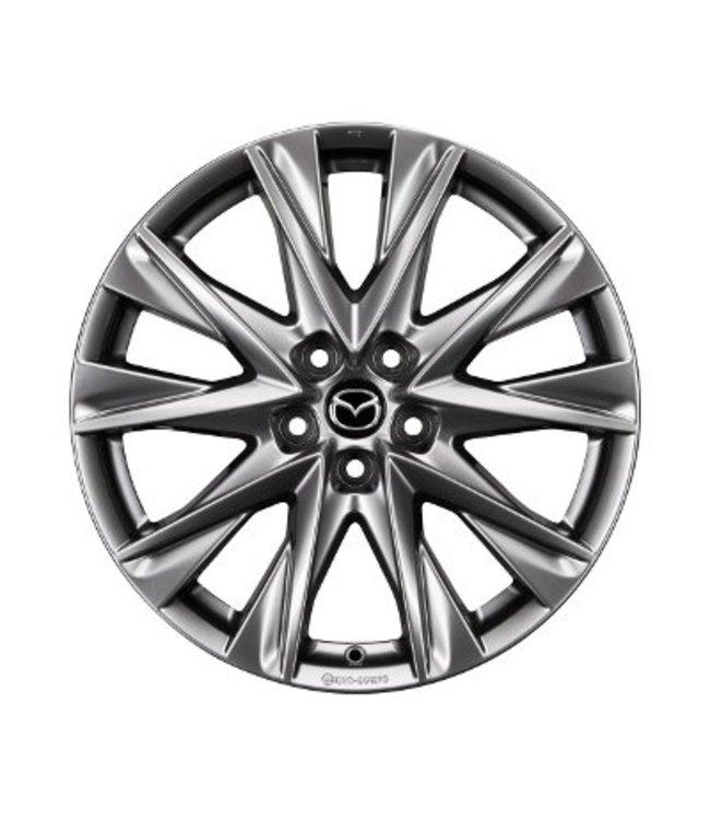 Mazda CX-5 KF 19 Zoll Alufelgen Design 68 Chrome Shadow original Satz 4 Stück