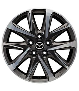 Mazda CX-5 KF 17 Zoll Alufelgen Design 67A Diamantschliff original Satz 4 Stück