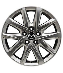 Mazda CX-5 KF 17 Zoll Alufelgen Design 67 silberfarben  original Satz 4 Stück