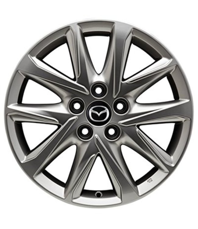 Mazda CX-5 KF 17 Zoll Alufelgen Design 67 silberfarben original