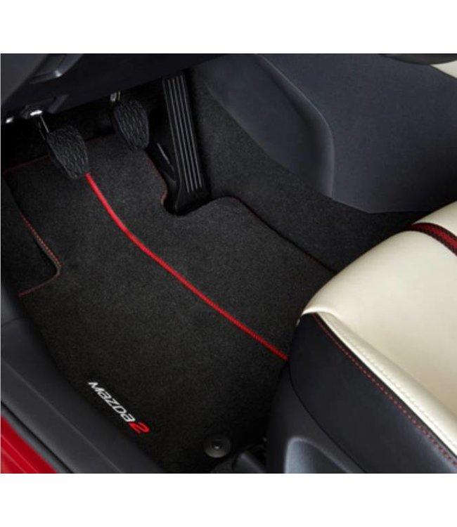 Mazda 2 Fußmattensatz Premium original ab. 02.2015