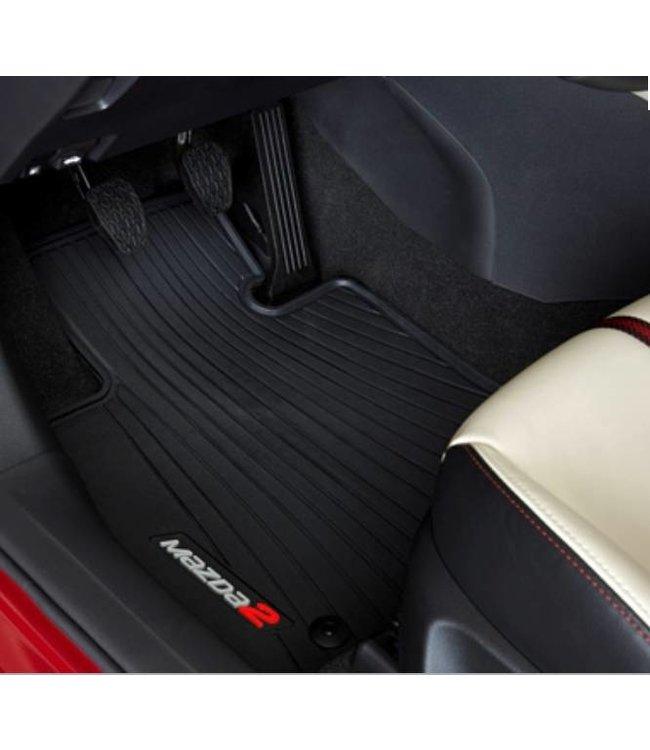 Mazda 2 N E U ab 2015 Gummi-Passformmattensatz original