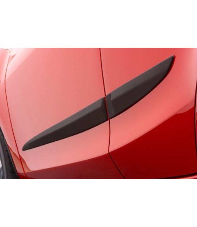 Mazda 2 5-Türer Seitenschutzleisten original ab 06.2007 - 02.2015