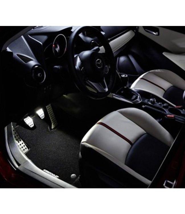 Mazda 2 DJ NEU Begrüßungsbeleuchtung original ab 2015