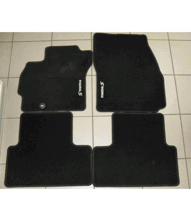 """Mazda 5 Textilfußmattensatz """"Standard"""" 4-teilig original ab 02.2005"""