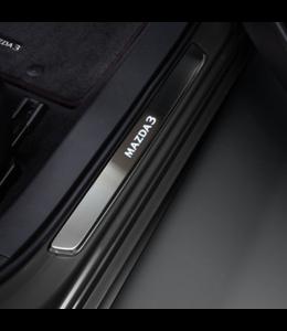 Mazda 3 BP Einstiegsblenden beleuchtet ab 11.2018 aus Edelstahl