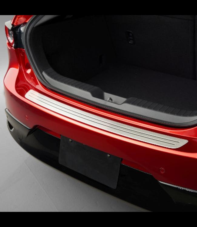 Mazda 3 BP Trittschutzleiste Ladekantenschutz aus Edelstahl ab 11.2018