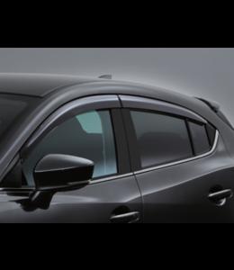 Mazda 3 BM BN Windabweiser 4-teilig  ab 05.2013