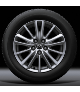 Mazda CX-5 KF 17 Zoll Alufelgen Design 161 silberfarben  original
