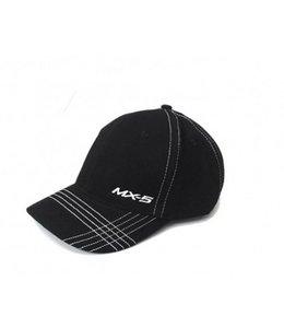 Schirmmütze MX-5 Cap Race original schwarz/weiß