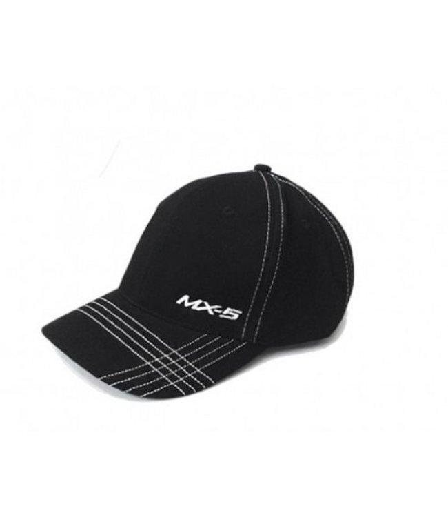 Mazda Schirmmütze MX-5 Cap Race original schwarz/weiß