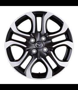 Mazda 2 DJ ab 02/2015 Leichtmetallfelge 5,5J x 16 Design 154 Diamantschliff-Design Alufelge