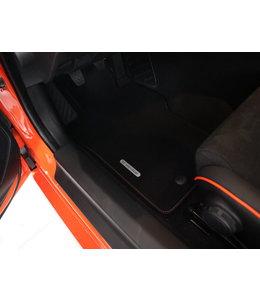 Mazda MX-5 ND 30 Jahre Fußmattensatz schwarz/racing orange  original
