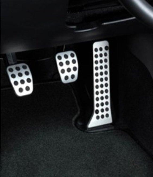 Mazda CX-5 KE bis 2017 Upgrade Schalter Alu Pedalsatz 3-teilig original nur für Schaltgetriebe